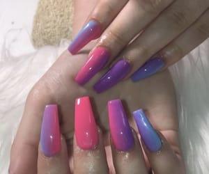 art, nails, and nail art image