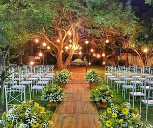 wedding, simple wedding, and wedding decoration image