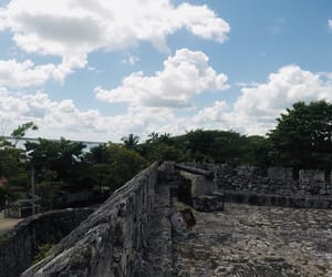 fort, lagoon, and mexico image