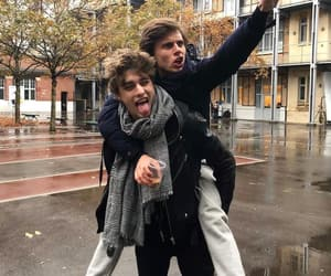skam france, axel, and boys image