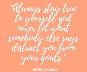 never give up, qoutes, and michelle obama image