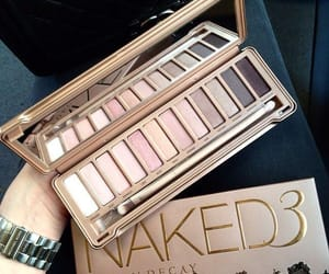 make-up and naked palette image