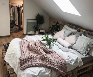 bedroom, home, and house image