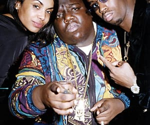 90s, biggie smalls, and Diddy image