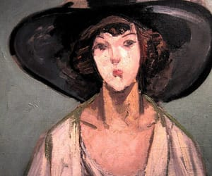 art, portrait, and jacqueline marval image