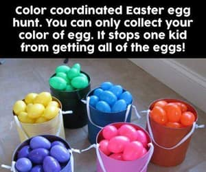 easter, easter eggs, and same color image