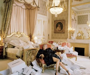 chanel, kate moss, and vogue image