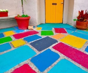 colour, creative, and tiles image