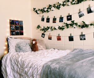 bedroom, boho, and college image