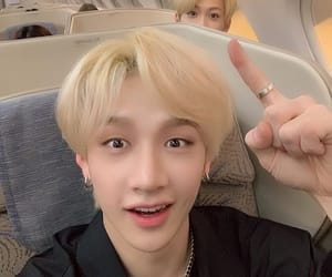 kpop, stray kids, and bang chan image