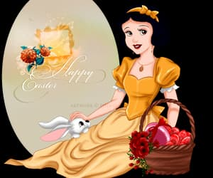 art, disney, and easter image