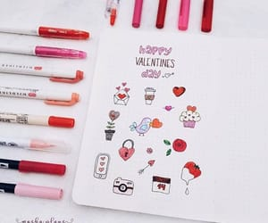 draw, cute, and bujo image