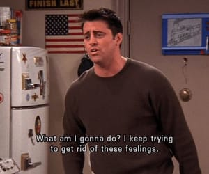 friends, Joey, and feelings image
