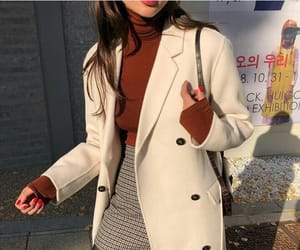 coat, winter, and bluse image