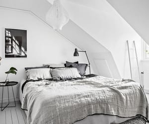 bedroom, black, and classy image