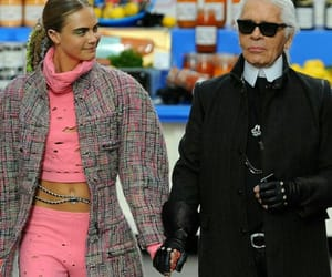 chanel, paris, and karl lagerfeld image