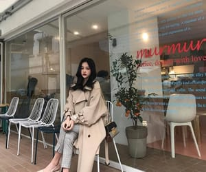 asian, fashion, and beige image