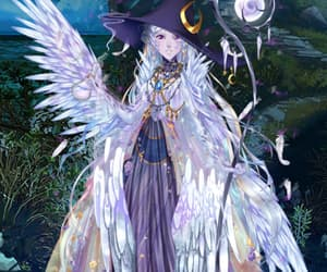 outfit, witch, and eldarya image