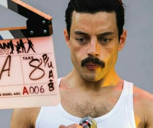 Freddie Mercury, movie, and music image