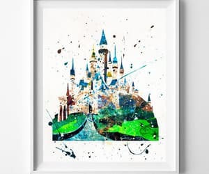 disney castle, etsy, and disneycastle image