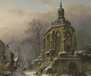 19th century, art, and church image