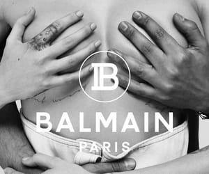 Balmain and cara delevingne image