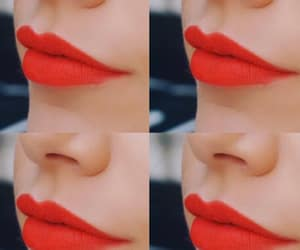 lipstick, makeup, and maquillage image