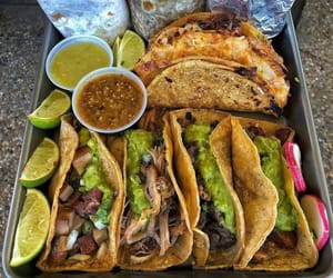 food porn, tacos, and tasty image