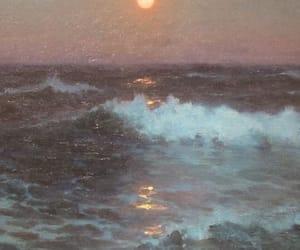 aesthetics, art, and sunset image