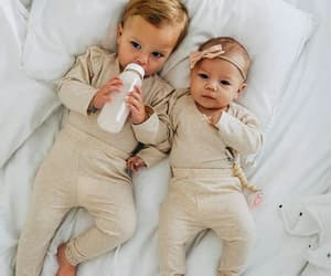 babies, boy, and brother image