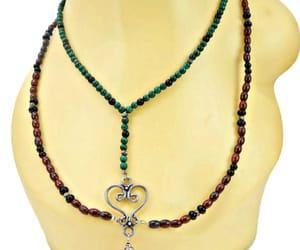 black onyx, boho jewelry, and two strand image