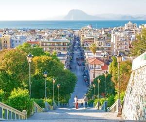 city, girl, and Greece image
