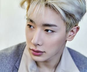 wonho, shin ho seok, and monsta x image