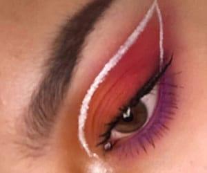 aesthetic, eyeliner, and makeup image