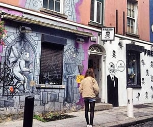 clothing, dublin, and temple bar image