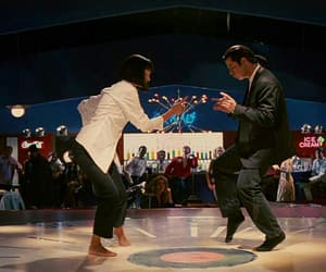 John Travolta and pulp fiction image