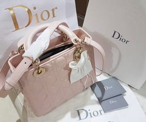 christian, dior, and pink pale image