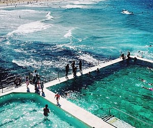 australia, swimming pools, and bondi icebergs image