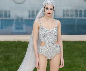 belleza, glitter, and bridal image