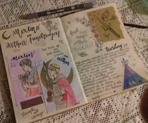 journaling and merlin image