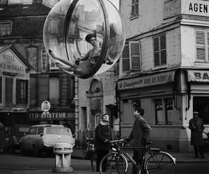 bubble, black and white, and Melvin Sokolsky image