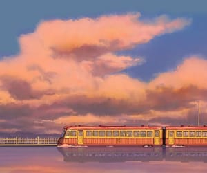 train, wallpaper, and anime image