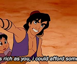 aladdin, disney, and movie image