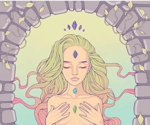 beauty, chakras, and healing image