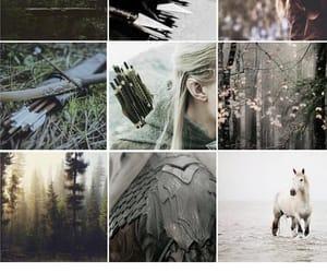 aesthetic, elf, and Legolas image