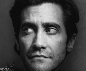 black and white, jake gyllenhaal, and photography image