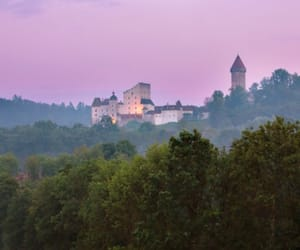 adventure, purple sky, and austria image