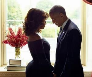 barack obama, michelle obama, and black love image