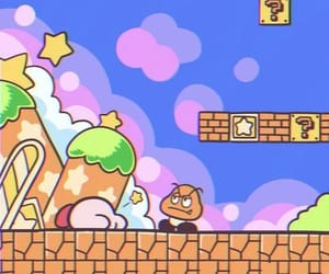 game, super mario, and kirby image