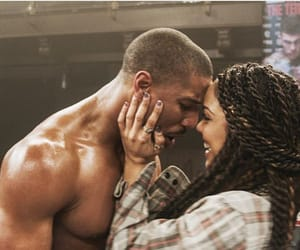 creed, couple, and boxing image